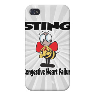 Insuficiencia cardiaca congestiva de STING iPhone 4 Coberturas