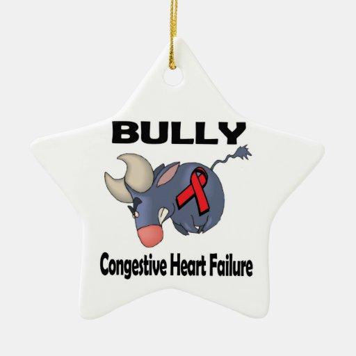 Insuficiencia cardiaca congestiva del matón adornos de navidad