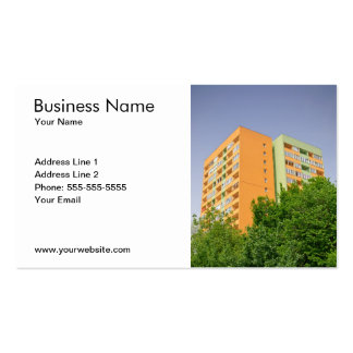 Insulated Block of Flats Business Card Template
