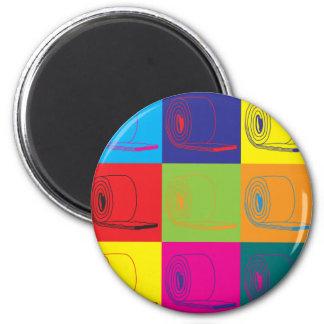 Insulation Pop Art 2 Inch Round Magnet