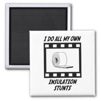 Insulation Stunts 2 Inch Square Magnet