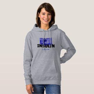 Insulin is not a cure - film hoodie