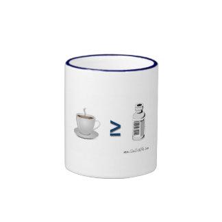 Insulina del ≥ del café taza a dos colores