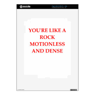 insult iPad 2 decal