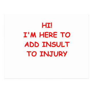 INSULT.png Postcard