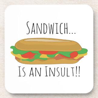 Insult Sandwich Coaster