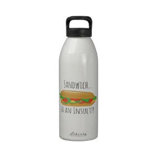 Insult Sandwich Reusable Water Bottles
