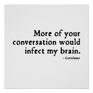 Insulto de Coriolanus (versión 16thC) Impresiones