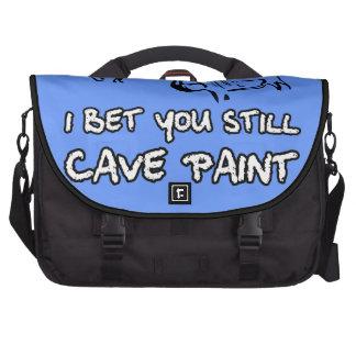 Insulto divertido bolsas para portátil