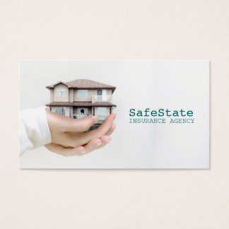 Insurance Agency, Company Business Cards