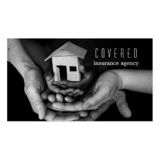 Insurance Agency, Company Tarjetas De Visita