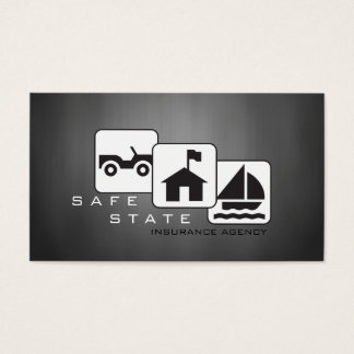 Insurance Agent, Agency Business Card