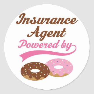 Insurance Agent Gift (Donuts) Sticker