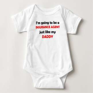 Insurance Agent Like My Daddy Baby Bodysuit