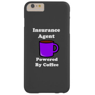 """Insurance Agent"" Powered by Coffee Barely There iPhone 6 Plus Case"