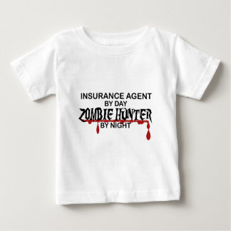 Insurance Agent Zombie Hunter Baby T-Shirt