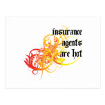 Insurance Agents Are Hot Postcard