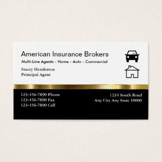 Insurance Broker Business Cards