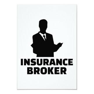 Insurance broker card