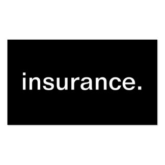 Insurance Double-Sided Standard Business Cards (Pack Of 100)