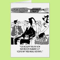Insurance Cartoon 5221 Card