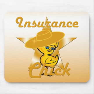 Insurance Chick #10 Mouse Pad