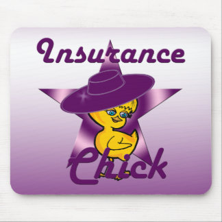 Insurance Chick #9 Mouse Pad