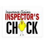 INSURANCE CLAIMS INSPECTOR'S CHICK POST CARDS