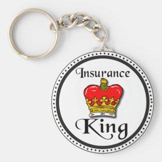 Insurance King Keychain