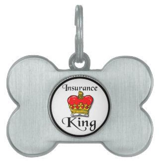 Insurance King Pet Tag