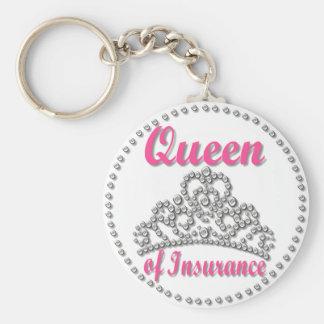 Insurance Queen Keychain