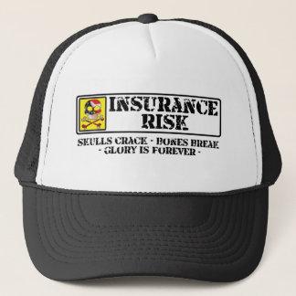 Insurance Risk - Skulls Crack - Bones Break Trucker Hat