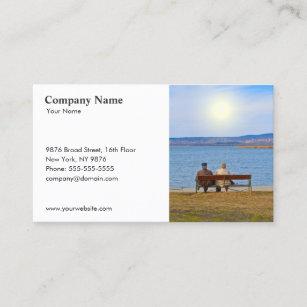 Insurance business cards 1900 insurance business card templates insurance senior couple business card colourmoves