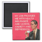 Insurance ulcers and depression magnet