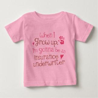 Insurance Underwriter (Future) Infant Baby T-Shirt