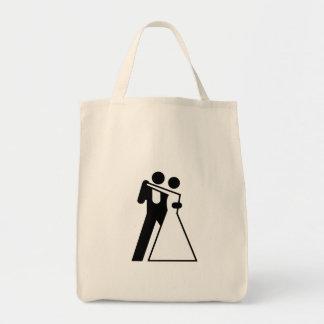 Int l Sign for Bride Groom Bag
