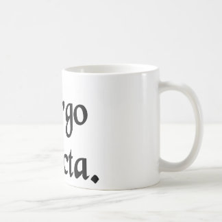Intact virgin. coffee mug