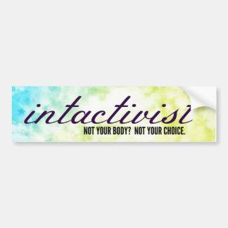 Intactivist Bumper Sticker