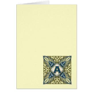 Intaglio A Greeting Card