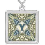Intaglio Monogram Letter Y Custom Jewelry