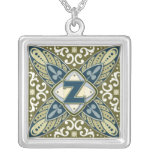 Intaglio Monogram Letter Z Custom Jewelry