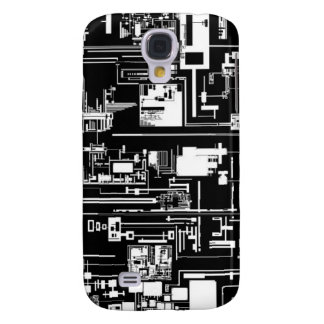 Intake 1.0 Black Galaxy S4 Cover