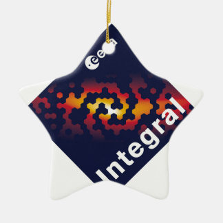 INTEGRAL Spacecraft Christmas Tree Ornaments