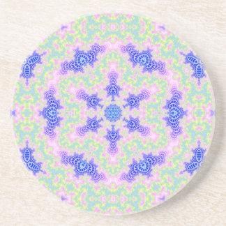 Integral Vortices Hexagram V 2  Sandstone Coaster