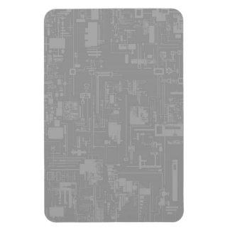 Integrate 1.0 Grey Premium Magnet