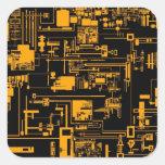 Integrate 1.0 Orange Square Sticker