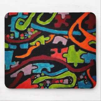 Integrated Abstraction Mouse Pad