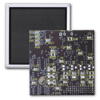 Integrated Circuit Board On A Magnet
