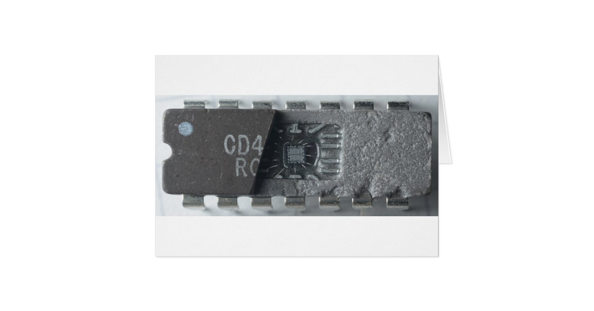 Integrated Circuit Chip Card | Zazzle