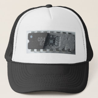 Integrated Circuit Chip Trucker Hat